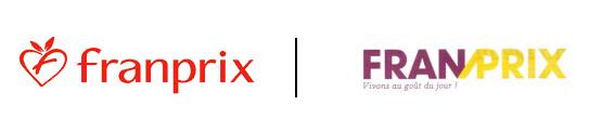 Ancien / Nouveau logo Franprix