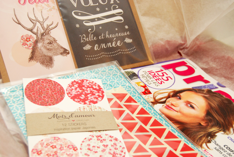 Contenu de la Lovely Box - photo © La Veilleuse Graphique