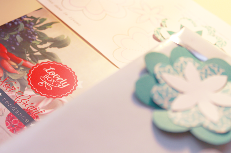 DIY de la Lovely Box - © La Veilleuse Graphique
