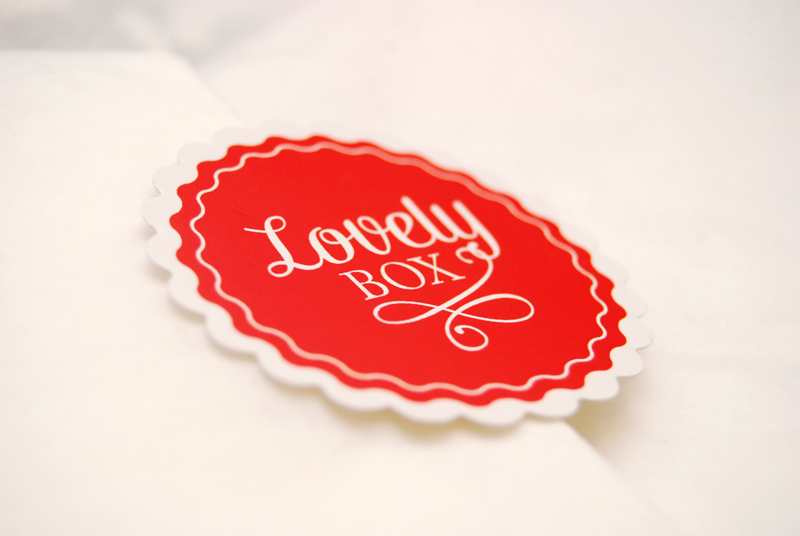 Logo de la Lovely Box - photo © La Veilleuse Graphique