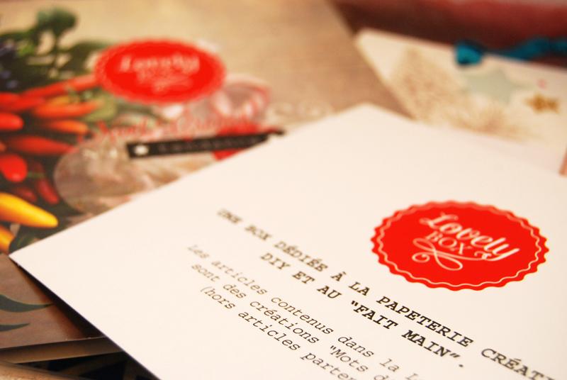 """La lovely box sur le thème """"Un Noël créatif tendance"""" - photo © La Veilleuse Graphique"""