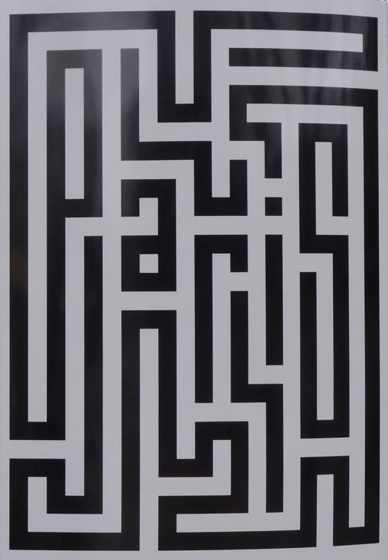 Bulent Erkmen - motif typographique
