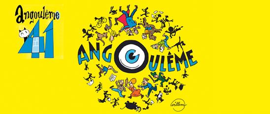 Le Festival de la BD 2014 ouvre ses portes à Angoulême avec une affiche signée Willem