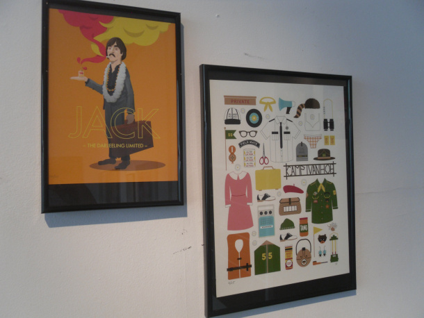 "Exposition ""The Grand Wes Anderson Hotel"" - © Photo Ma Semaine Cinéma"