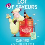 affiche 2014 Lot of Saveurs - © Pan Pan