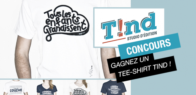 Concours : les éditions T!nd vous offrent un tee-shirt graphique !