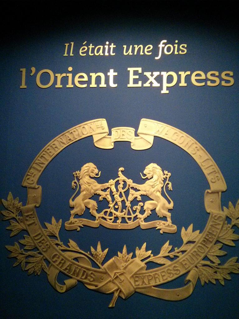 """Exposition """"Il était une fois l'Orient Express"""" à l'Institut du Monde Arabe"""