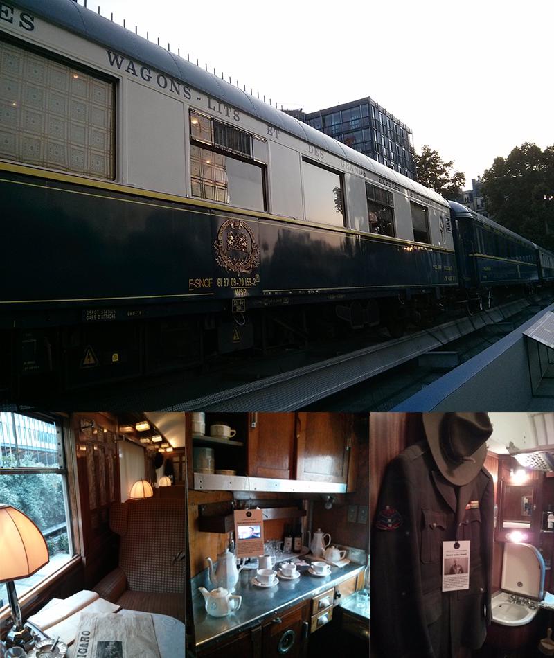 Wagons de l'Orient Express - Institut du Monde Arabe