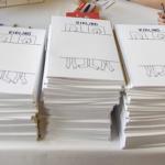 50 couvertures crées pour les 10 ans de Kiblind à la Gaîté Lyrique