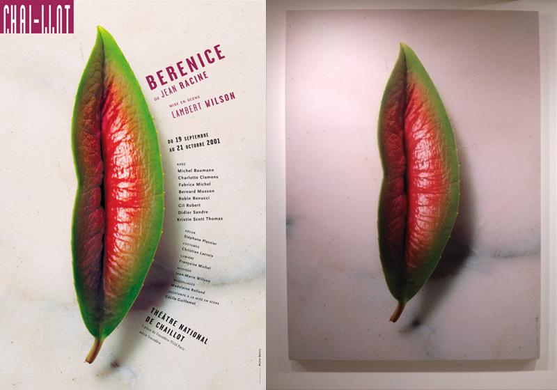 """Affiche pour la pièce """"Bérénice"""" du théâtre de Chaillot - Michal Batory"""