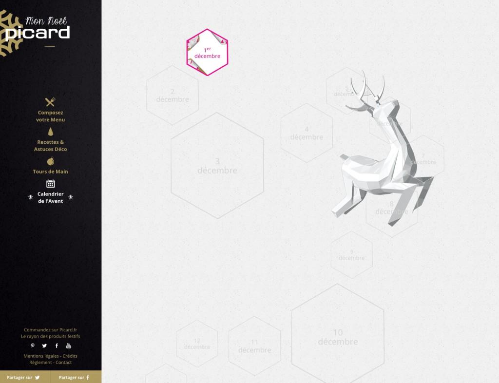 Mon Noël Picard - Calendrier de l'Avent Web 2014