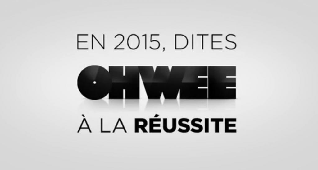 Voeux 2015 en vidéo pour l'agence Ohwee