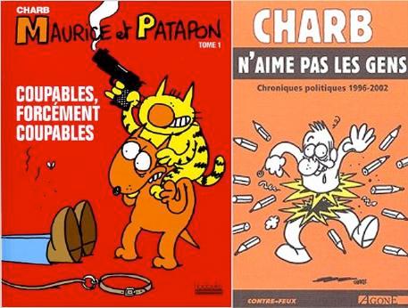 Albums de Charb publiés