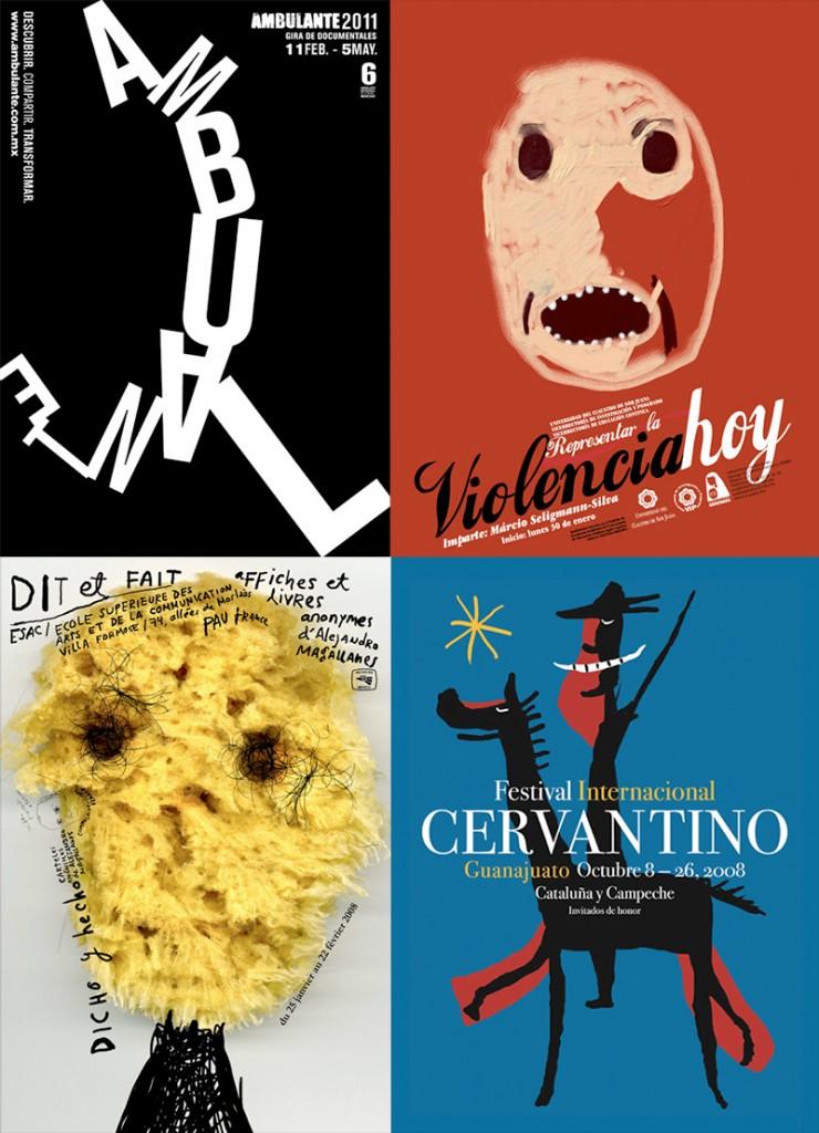 Affiches créées par Magallanes