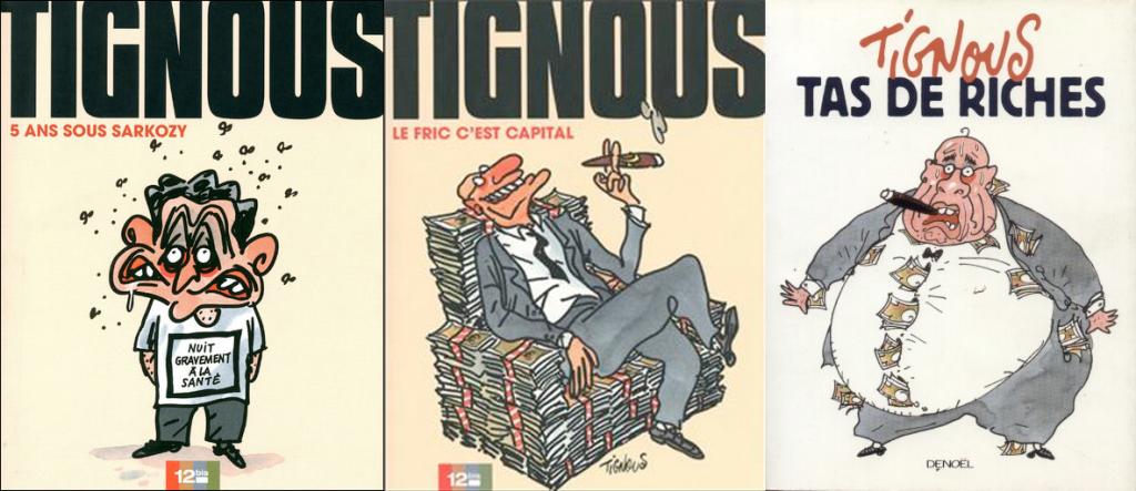 Albums signés Tignous