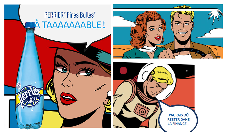 Perrier Fines Bulles - Campagne Mars 2015