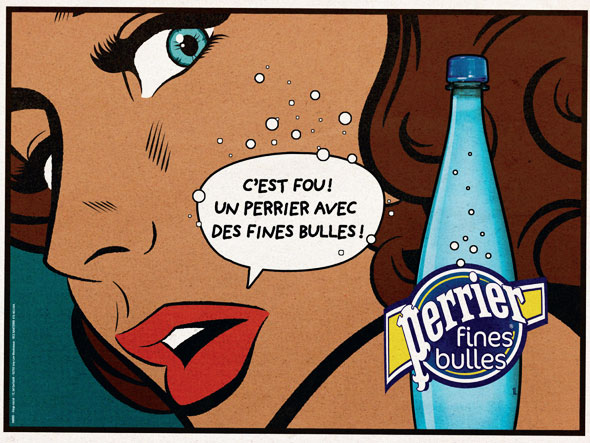 Campagne Perrier Fines Bulles 2012
