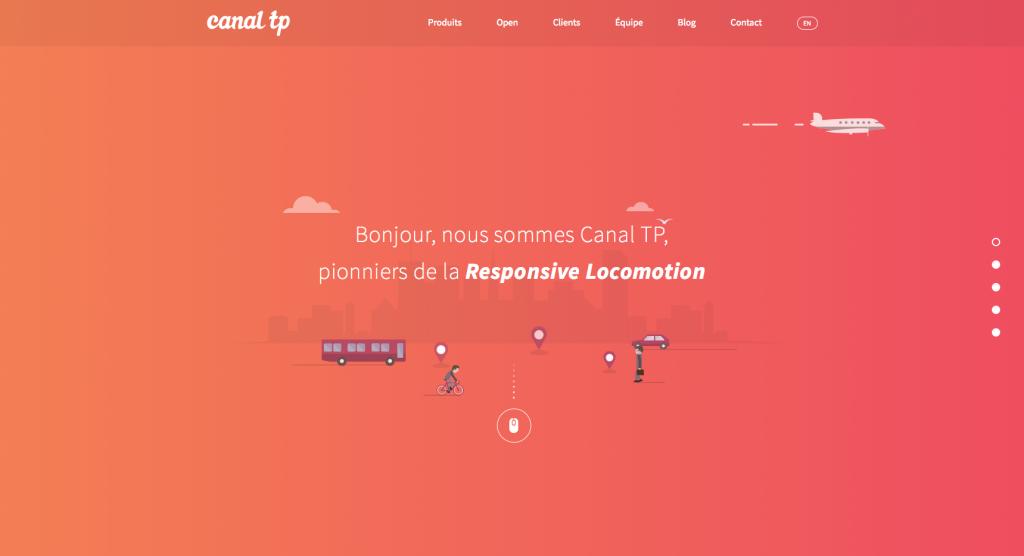 Site de Canal TP