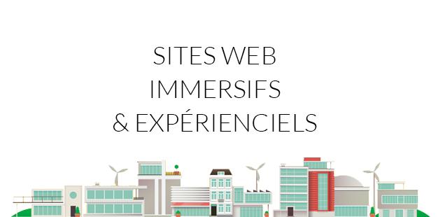 Sites Web immersifs : experience et interactivité au coeur du design