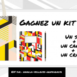 Concours : gagnez un kit de rentrée graphique signé Ich&Kar