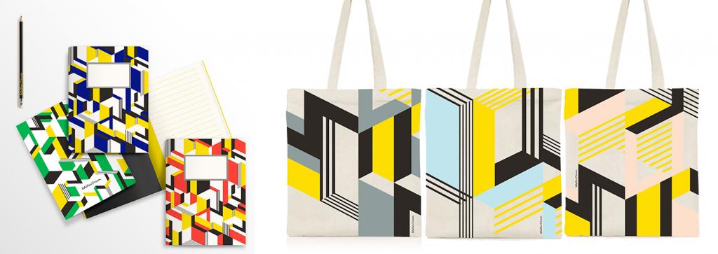 Choisissez un modèle de carnet et de sac parmi ces combinaisons