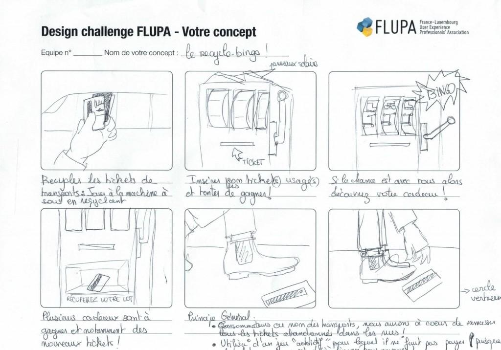 Projet Recyclo-Bingo - Design Challenge FLUPA Bordeaux