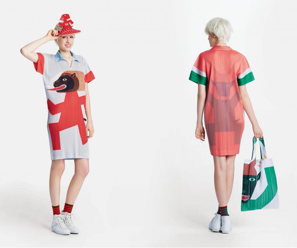 Collaboration de Kazumasa Nagai et Issey Miyaké pour la collection automne/hiver 2014/2015
