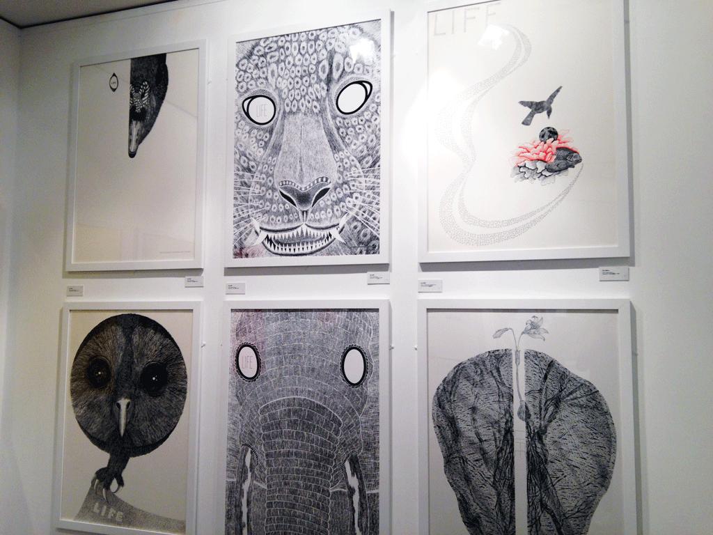 """Exposition """"Utopies et réalités"""" lors de la fêtes du graphisme 2015 - photos © www.inouixcurius.com"""