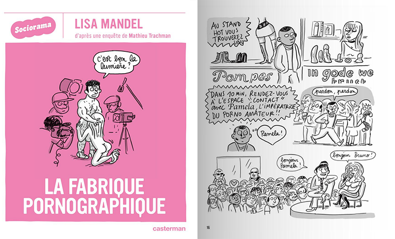 La Fabrique pornographique - Lisa Mandel
