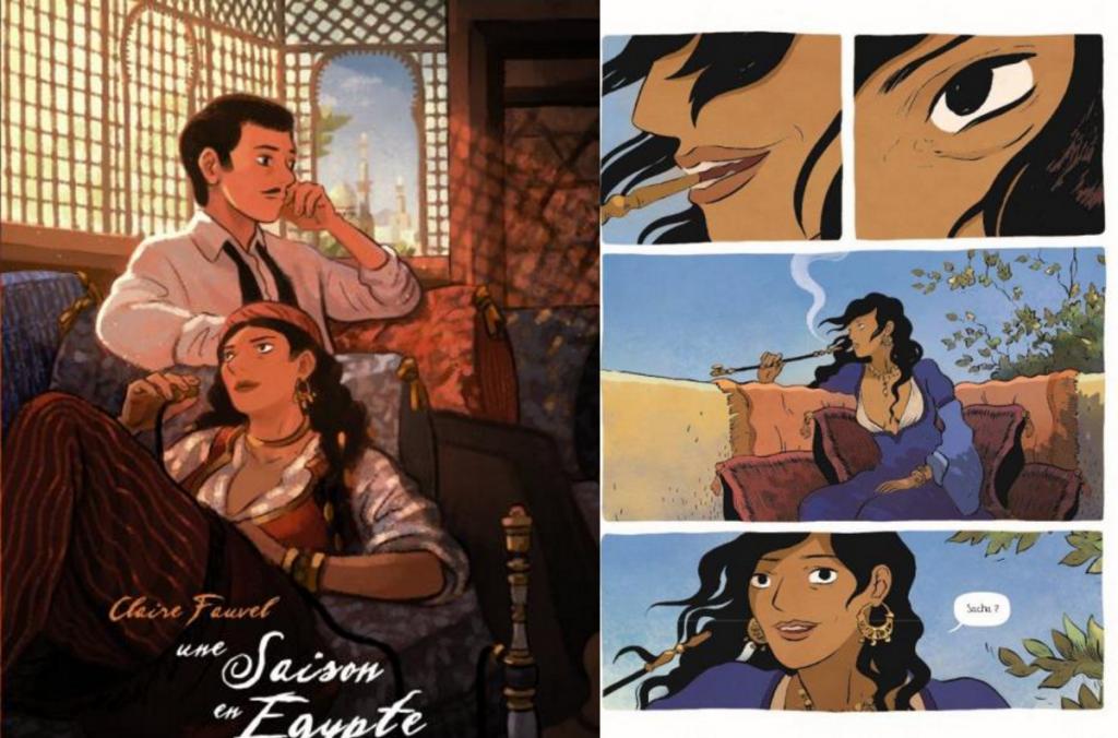 Une saison en Egypte - Claire Fauvel