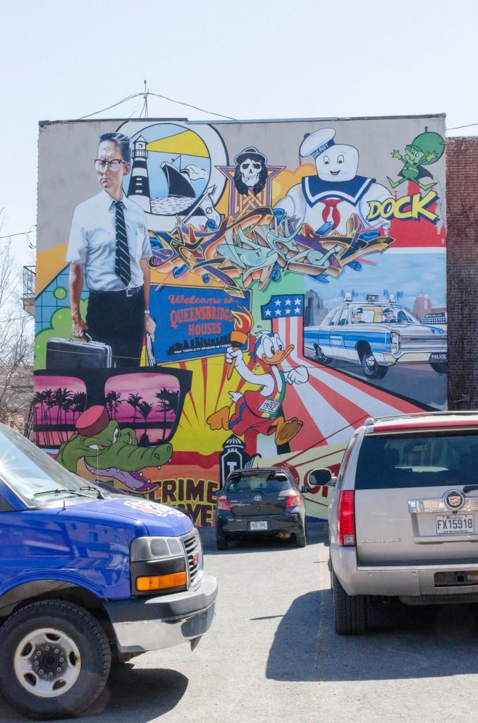 Street art par Benny Wilding à Montréal - Photo © La Veilleuse Graphique