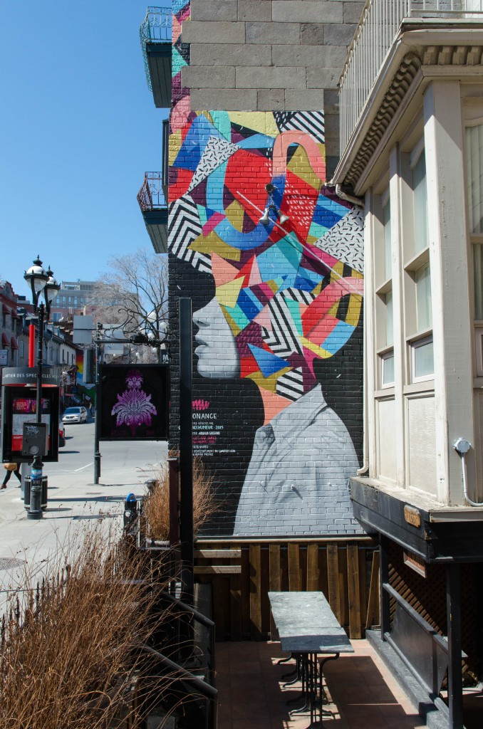 Street Art par ... à Montréal - Photo © La Veilleuse graphique