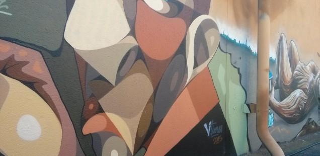 Le graffeur Alber fait briller le street art bordelais