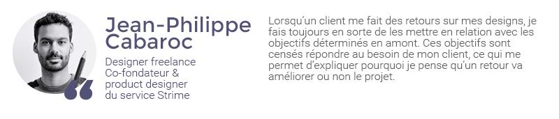 Extrait de l'interview de Jean-Philippe Cabaroc sur la gestion des retours client