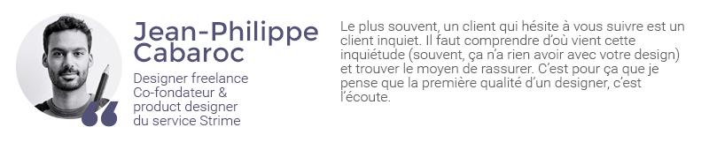 Extrait de l'interview de Jean-Philippe Cabaroc sur la gestion des retours clients