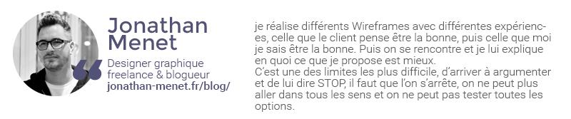 Extrait de l'interviex de Jonathan Menet sur la gestion des retours clients