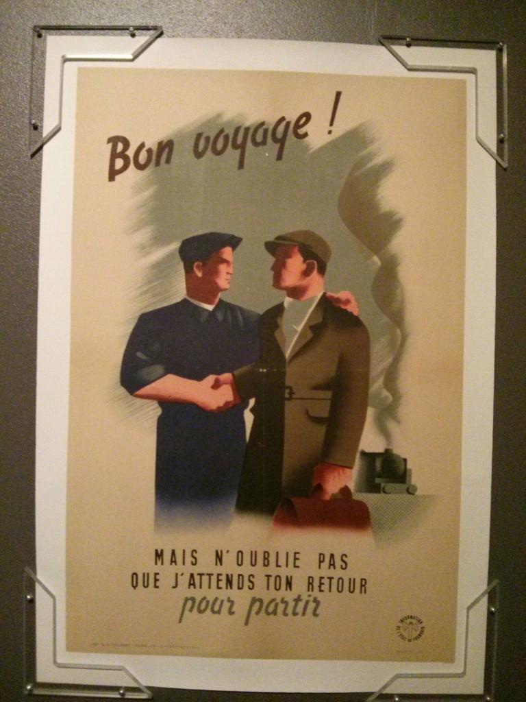 Affiche du régime de Vichy faisant la promotion du Service de Travail Obligatoire (STO) - collection de Vincent Caliot
