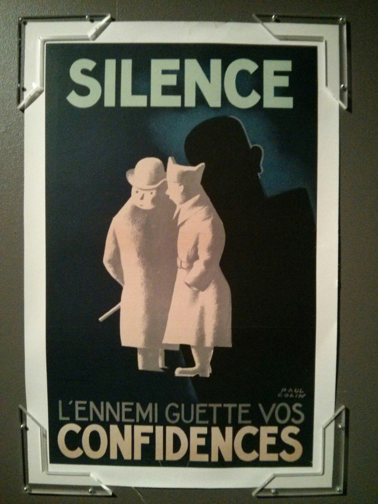 Affiche signée de l'artiste Paul Colin - Collection de Vincent Caliot