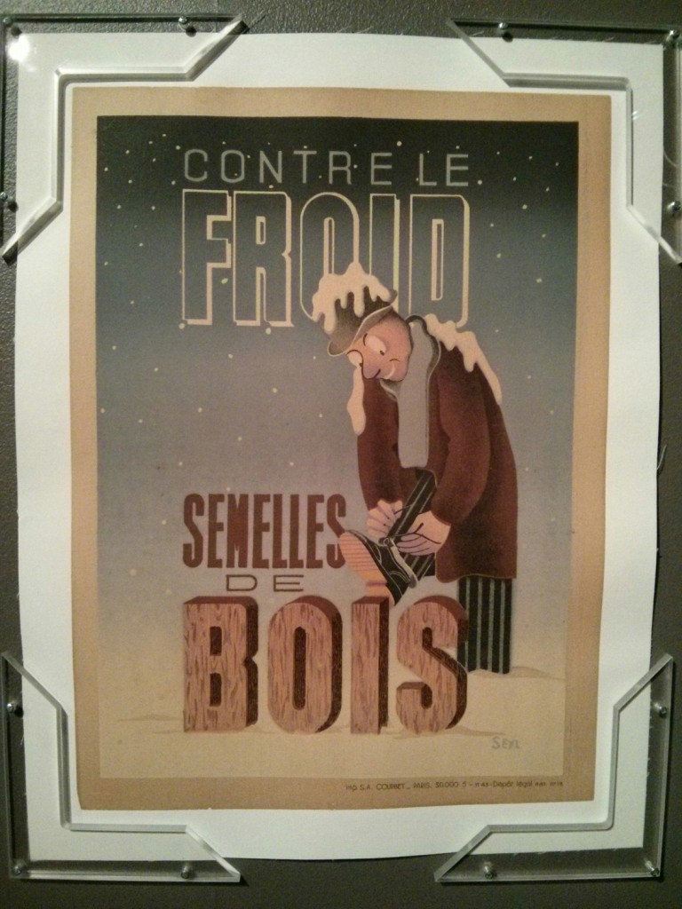 Affiche signée de l'artiste SEM - collection de Vincent Caliot