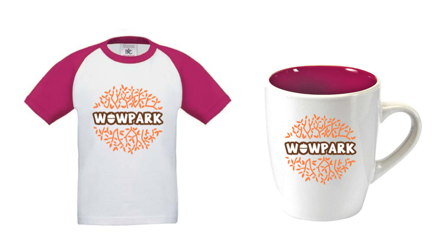 Déclinaisons sur tee-shirt et tasses - © La Veilleuse Graphique