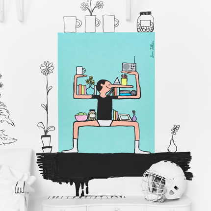 les affiches en dition limit e de l 39 art event d 39 ikea 2017. Black Bedroom Furniture Sets. Home Design Ideas