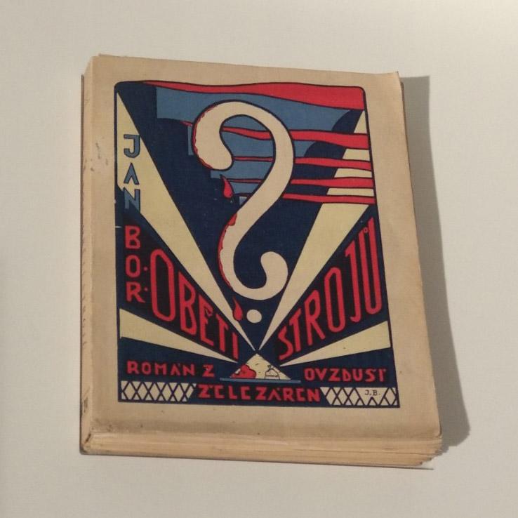 couverture d'un livre par J.B. 1930
