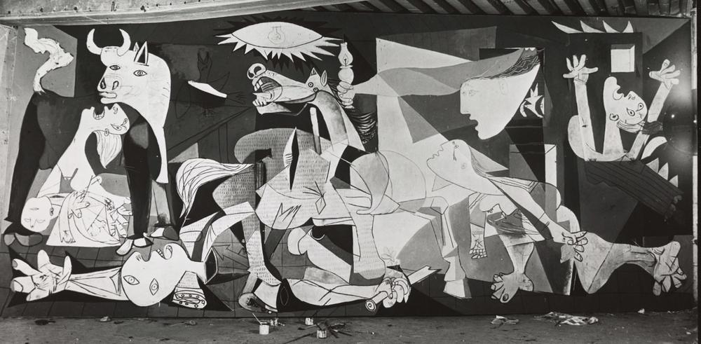 Guernica, peinte en 1937 par Pablo Picasso.