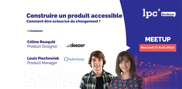 couverture de présentation de la conférence LPCX sur l'accessibilité