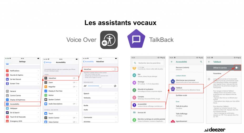 image du tutoriel pour l'activation des assistants vocaux