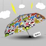 Un parapluie qui égaiera la grisaille!