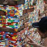 Des légos dans la ville : un projet entre art et design