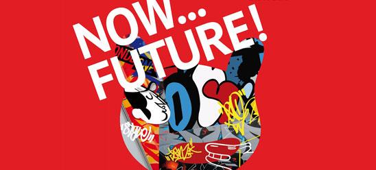 L'exposition Now ... Future! Les graffitis dans les musées.