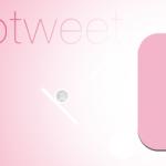 Melotweet, une application pour tablette tactile à l'interface poétique