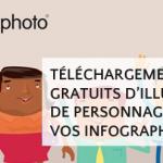 [Freebies #5] Téléchargements gratuits de personnages adaptés à vos infographies et schémas